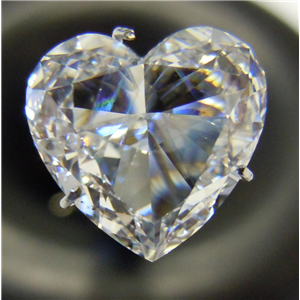 Heart Cut Loose Diamond (3.01 Ct, D ,VS1(Clarity Enhanced,Laser Drilled)) EGL Certified