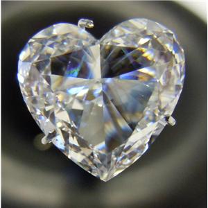 Heart Cut Loose Diamond (3.01 Ct, D ,VS1(Clarity Enhanced,Laser Drilled)) EGL Certified