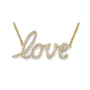 18K Diamond Love Bracelet, G Color, VS1 Clarity