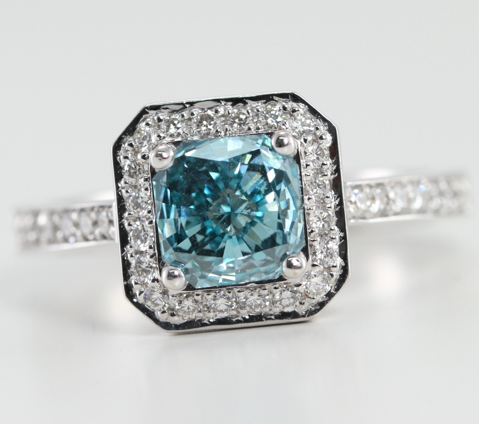 colored multi stone diamond diamonds with ring majesty v engagement blue canada prong radiant cut round bijoux o