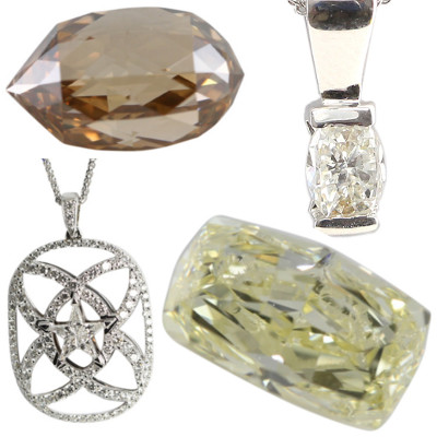 Kite, Briolette, Millennial Sunrise and Octagonal Shaped Diamonds