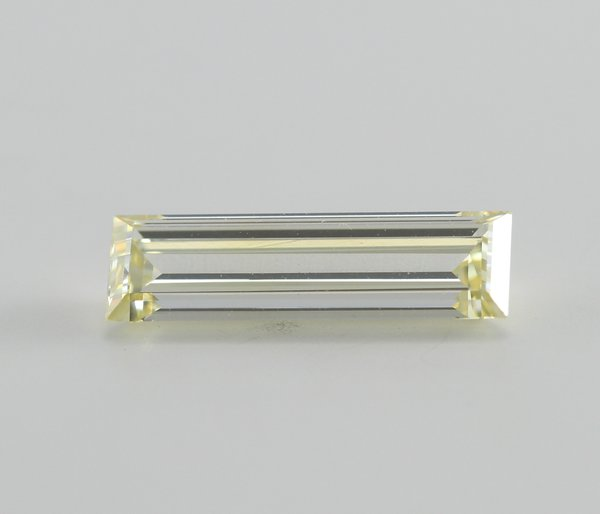 Baguette Cut Loose Diamond (1.01 Ct, Natural Fancy Yellow, VS1) GIA Certified